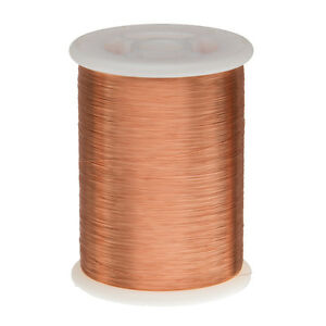 33 Awg Gauge Enameled Copper Magnet Wire 2 5 Lbs 15 880 Length 0 0077 155c Nat