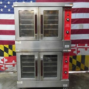Vulcan Gas Double Deck Full Size Convection Ovens Vc4gd 10