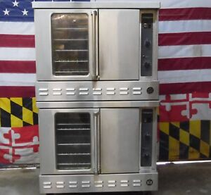 Garland U S Range Nat Gas Double Deck Full Size Convection Ovens G 200