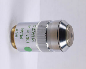 Leitz Plan 100x Oil Phaco 3 Phase Contrast Microscope Objective