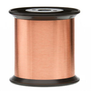 40 Awg Gauge Enameled Copper Magnet Wire 5 0 Lbs 166085 Length 0 0033 155c Nat