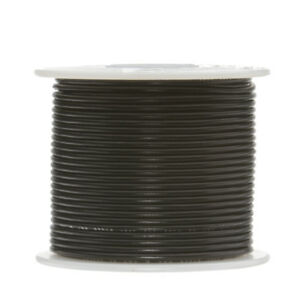 30 Awg Gauge Stranded Hook Up Wire Black 250 Ft 0 0100 Ptfe 600 Volts