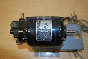 Vintage Bodine Electric Company Speed Reducer Motor Nsh 12r