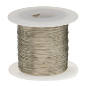 20 Awg Gauge Nickel Chromium Resistance Wire Nichrome 80 1000 Length 0 0320