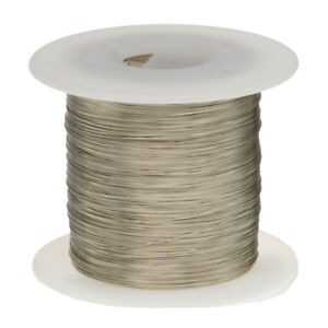22 Awg Gauge Nickel Chromium Resistance Wire Nichrome 80 1000 Length 0 0253