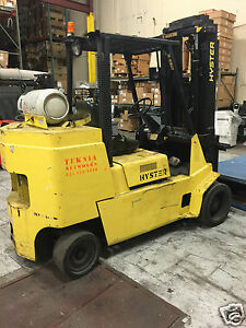 Hyster 8000 Lbs Propane Heavy Duty Forklift 1998 New Battery Master Cylinder