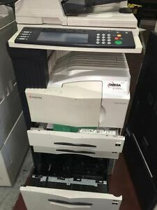 Kyocera Mita Km 5035 Multifunction Printer copier scanner fax With Df 73