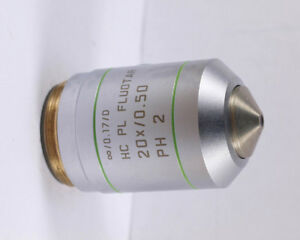 Leica Hc Pl Fluotar 20x Ph2 Phase Contrast M25 Microscope Objective