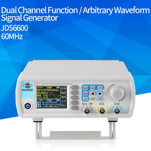 Jds 6600 60mhz Dual channel Dds Function Waveform Signal Generator Counter Ce