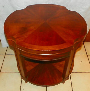 Mid Century Mahogany End Table Side Table By Lane T652