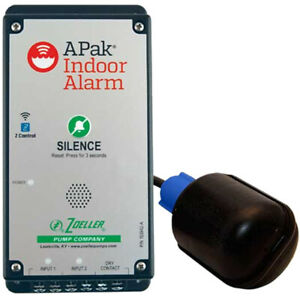 Zoeller 10 4014 Apak reg Z Control reg Wireless Enabled Water Alarm W Teth