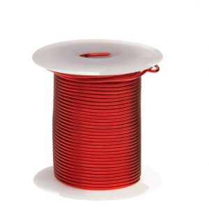 20 Awg Gauge Heavy Copper Magnet Wire 4 Oz 78 Length 0 0346 155c Red
