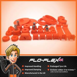 Vauxhall Nova Front Rear Suspension Bushes In Poly Polyurethane Flo Flex
