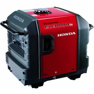 Honda Eu3000i 2800 Watt Electric Start Portable Inverter Generator 50 Stat