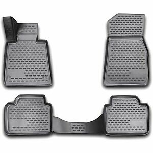 Westin Floor Mats Front Rear New Black 330 Sedan For Bmw 74 03 41019