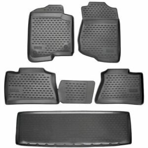 Westin Floor Mats Front New Black For Chevy Chevrolet 74 06 51014