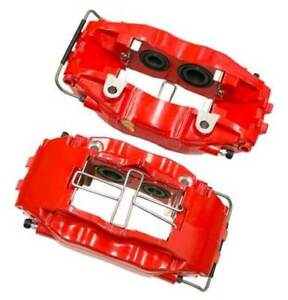 Porsche 911 Pair Front Right And Left Red Brake Calipers Set Jp Group Dansk New