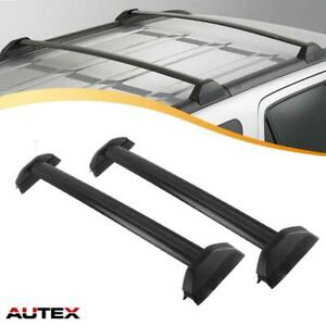 For 2002 2006 Honda Crv Autex Black Cross Bars Roof Rack Car Top Luggage Carrier