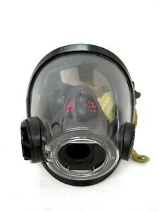 Scott Av3000 Ht High Temperature Facepiece Scba Mask Medium Kevlar Headnet