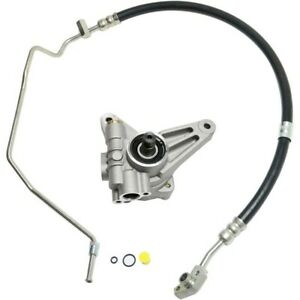 Power Steering Pump Kit For 2005 2007 Honda Odyssey With Hose 2pc