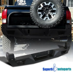 Hd Heavy Duty Rear Bumper Fit 16 19 Toyota Tacoma W License Lamp Replacement