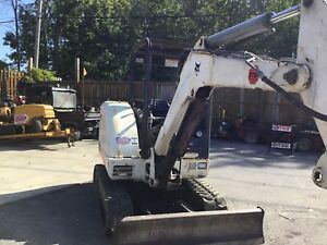 Used 2001 Bobcat 331d Mini Excavator Aux Hyds Diesel Engine