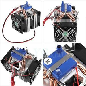 12v Thermoelectric Cooler Refrigeration Water Chiller Diy Cooling System Eb