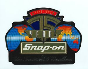 New Vintage Snap On Tools Tool Box Sticker Decal Man Cave 75th French Ssx1878