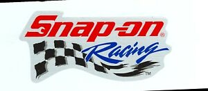 New Vintage Snap on Tools Racing Tool Box Sticker Decal Man Cave Chrome New Logo