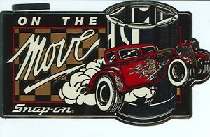New Vintage Snap on Tools Tool Box Sticker Hot Rod Decal Man Cave Ssx1091