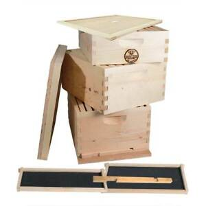 Goodland Bee Supply Gl 2b1sk er Beekeeping Double Deep Box Beehive Kit
