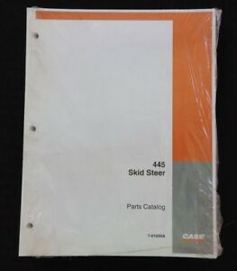 Genuine Case 445 Skid Steer Uni Loader Tractor Parts Manual Catalog Mint Sealed