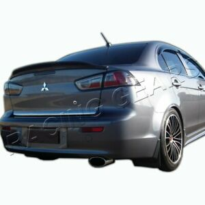 Fit Mitsubishi Lancer Evo 10 Glossy Black Abs Rear Truck Duck Lid Spoiler Wing
