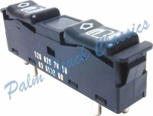 Mercedes Benz Left Front Rear Window Switch New W201 190e 2 3 16 Cosworth