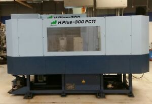 Used Matsuura H plus 300 Pc11 Cnc Horizontal Mill 2002 11 Pallets 240 Tools Bt40