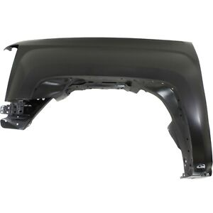 Fender For 2014 2017 Chevy Silverado 1500 15 17 2500hd Front Driver Primed Steel
