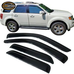 For 01 07 Ford Escape Acrylic Window Visors 4pc Set