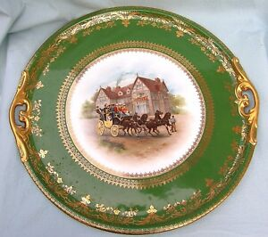 Imperial Crown China Austria Gilded Show Plate 5314 15 Exceptional Decor