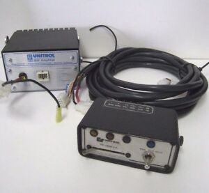 Federal Signal Fp 183k lv Control Box Unitrol 80k Amplifier W 12 Pin Cable