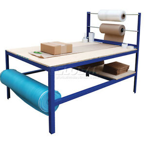 Multi purpose Packaging Work Bench Working Industrial Packing Shipping Warehouse
