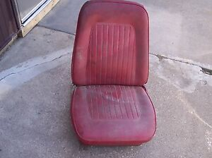 1967 67 1968 68 Camaro Rs Ss Z28 Passenger Right Side Bucket Seat