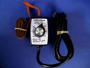 Thermolyne Bsat101 020 Heating Tape With Time Percentage Dial Control New