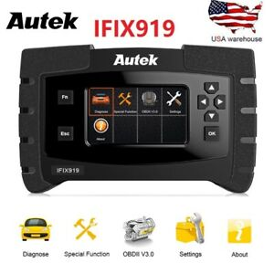 Auto Obd2 Diagnostic Scanner Tool Desiel Gas Engine Abs Sas Srs Full System Scan