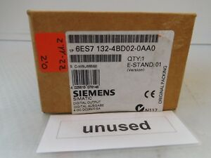 Pack 5st Siemens 6es7 132 4bd02 0aa0 E stand 01 Unused Boxed