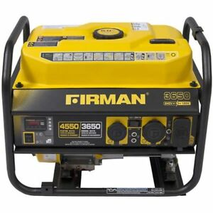 Firman P03606 Performance Series 3650 Watt Portable Emergency Generator W