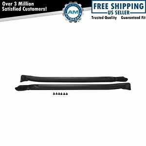 Windshield Pillar Post Seals Rubber Weatherstrip Pair For Caprice Impala Lesabre