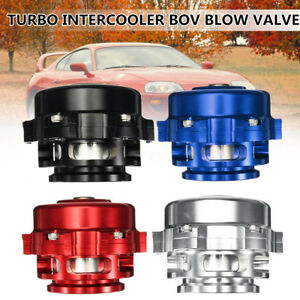 50mm Aluminum Universal Turbo Intercooler Boost Bov Blow Off Valve Kit 35 Psi