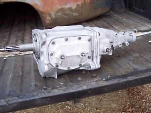 1962 62 Corvette Chevy Impala Borg Warner T10 4 Speed Transmission Rebuilt