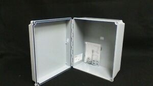 New Hoffman A12106chscfg Type 4x 12x10x6 Wall Mount Junction Box Enclosure Nib