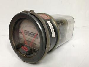 Dwyer 3215 Photohelic 0 15psi Pressure Switch Gauge 35psig Max Indust Surplus